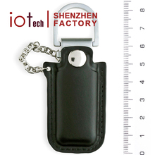 The Model You Never Saw Before Unique Leather USB Stick with Custom Logo and Key Rings