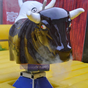 Inflatable Mat Mechanical Rodeo Bull