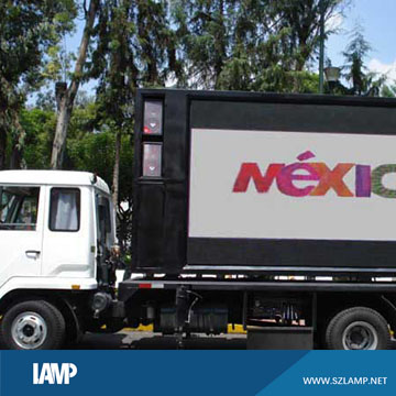 p8 truck mobile trailer advertising led display screen