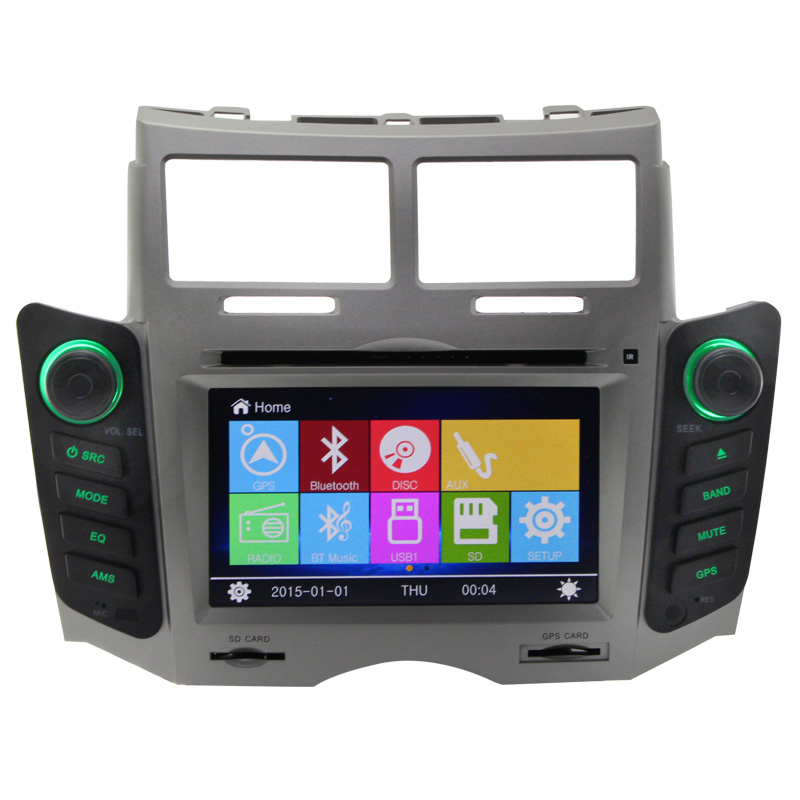 wholesale price for Toyota yaris 2016 car radio dvd gps navigation system