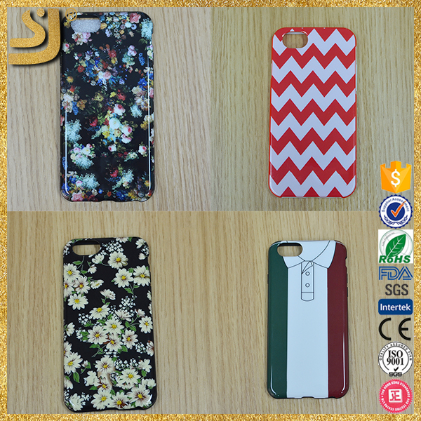 3d sublimation silicon phone case, 3d sublimation mobile phone cover for iphone6 case