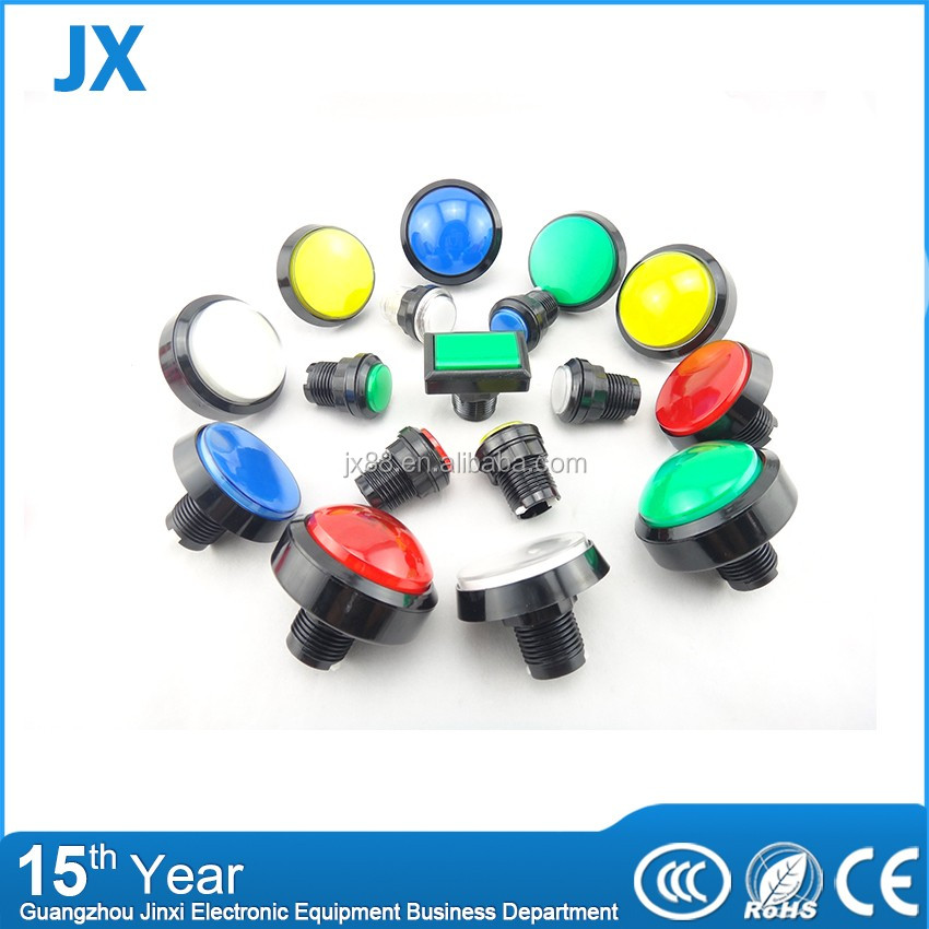 120V momentary led push button switch