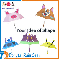 Animal umbrella for kids umbrella cheap, custom shape child umbrella