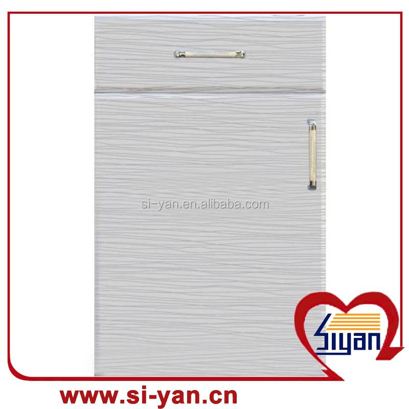 pvc white melamine kitchen cabinet door