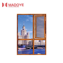 Economic used windows and doors Aluminum casement window with Australia standard