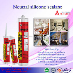 high quality neutral silicon sealant/ chemical silicone sealant/ clear coat for silicone sealant adhesive