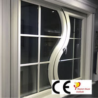 Wood Alu Inward Open Window