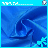 High quality comfortable anti-static 190t 210t polyester taffeta lining fabrics for garment
