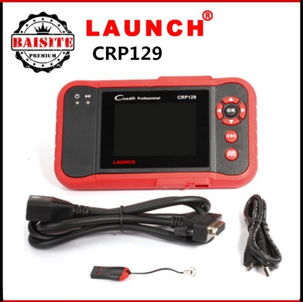 2017 New Arrival Original Launch X431 Creader CRP129 launch CRP129 ENG/AT/ABS/SRS EPB SAS Oil Service Light resets Code Scanner