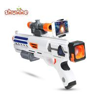 Smartphones Controlled App Bluetooth Shooting 3D Virtual Toy AR Gun