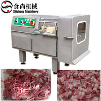 High capacity Frozen meat dicing machine chicken cutting machine fish slicing machine