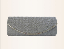 2015 new fashion ladies beauty fabric satin evening clutch bag wholesale women silk bag