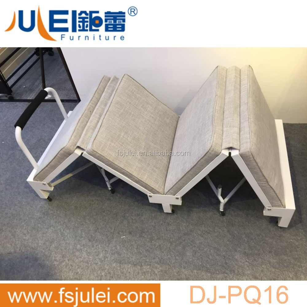 new morden space saving movable folding bed DJ-PQ16