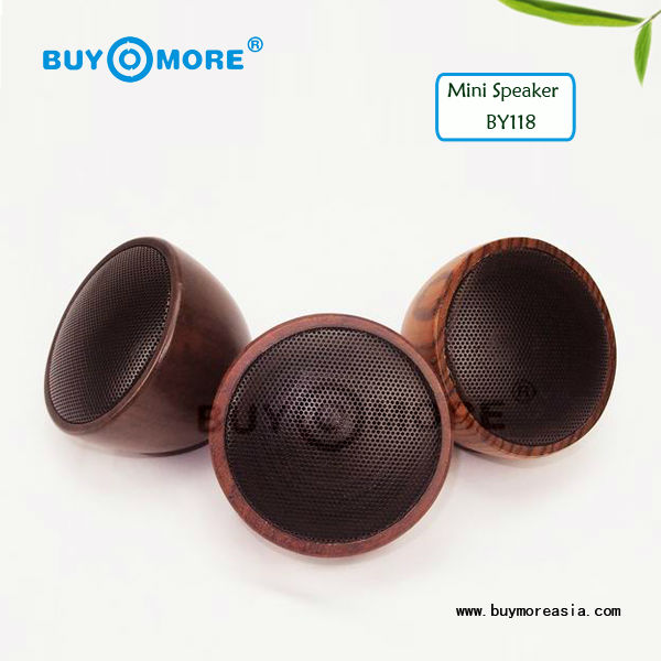 unique products oem wooden wireless mini bluetooth speaker