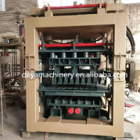 QT6-15 automatic hydraulic cement hollow block making machine/interlocking brick machine from manufacture with low price