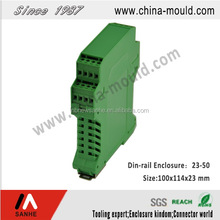 China Din Rail Type Control Box Plastic Enclosure Manufacturer