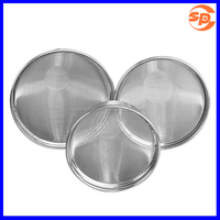 Food Grade Plain Weave Wire Screen Stainless Steel Filter Mesh