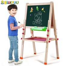 Natural deluxe wooden montessori toddler board for drawing