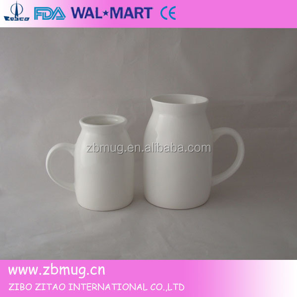 cute cow shaped printed porcelain mug with design