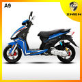 2017 ZNEN popular gas scooter A9 MODEL 125CC with EEC EPA DOT Self-development and patent products LED light cheap 125CC scooter