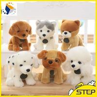 2016 Factory Wholesale Custom Lifelike Plush Dog Toys Colorful Dog