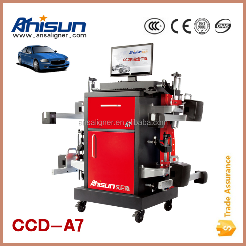 2016 car ccd wheel alignment/ car wheel alignment machine/ steering wheel alignment
