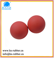 rubber massage ball/rubber bouncy balls/silicone rubber balls