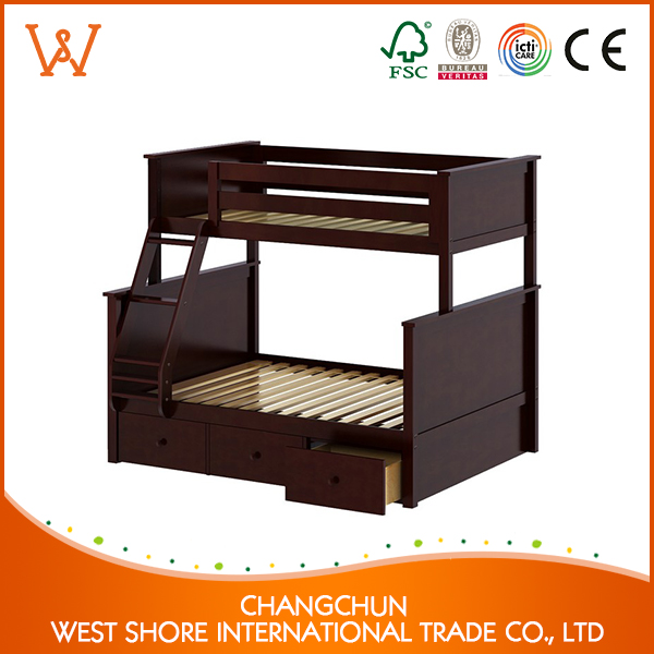 best selling toddler wooden bunk bed for promotion