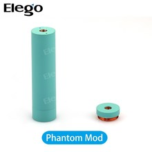 Phantom Mod 100%Original WOTOFO Phantom Mod Mechanical Vapor Mod 18650 Battery Tube 3 Colors alibaba USA support ODM OEM
