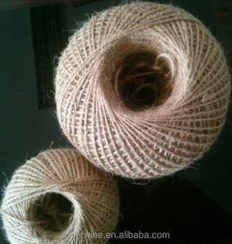 natural jute twine /natural jute rope / jute rope in ball