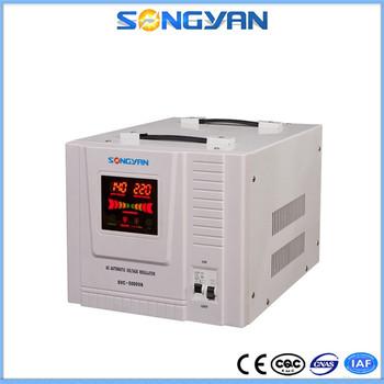 5000 Watt Ac Automatic Voltage Regulator Single Phase