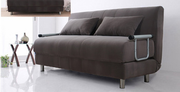 China Sofa Bed French Style Leather Sofa Metal Sofa Cum