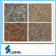Chinese natural red,pink,yellow, grey granite blocks