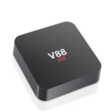 2017 Hot Sale Scishion V88 android tv box 4k 1.5GHz with 8gb flash