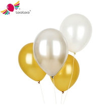 Metalic color ballons party 12 inch plastic bubble balloons