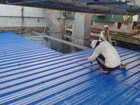 Plastic PVC Roofing Sheet for shed