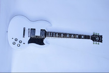 Musoo BRAND Electric Guitar SG Guitar in White color( SG4000)