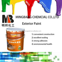 Water proof exterior wall building coating