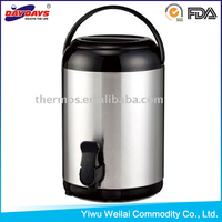 5.8L stainless steel insulated Water Jug dispenser,cooler jug