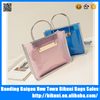 Fashion PVC Transparent Women Handbag Beach Bag Jelly Candy Bag