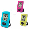 Sunny LCD Digital RF 433MHZ Wireless Thermometer Hygrometer Table Clock