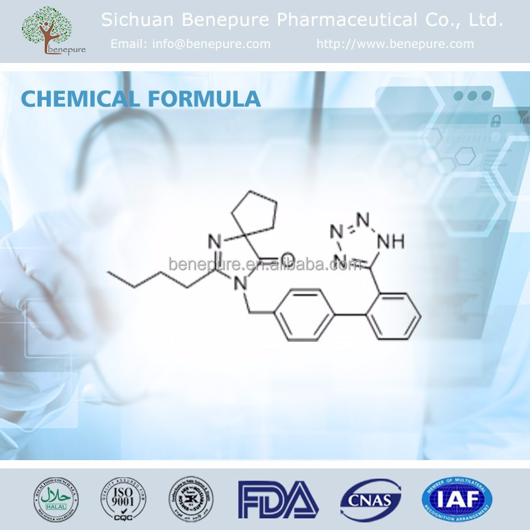 Competitive Price Irbesartan USP38 CAS 138402-11-6, 2N-Butyl-4-spirocyclopentane-2-imidazolin-5-one hydrochloride
