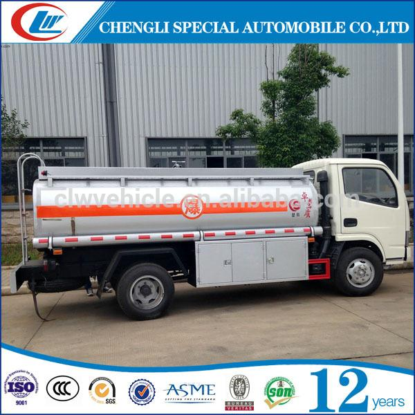 Good Price Fuel Tanker Truck Dimensions 5CBM Fuel Truck with low price