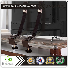 Anti-Tip TV Flat Screen Furniture Wall Safety Strap Clamp