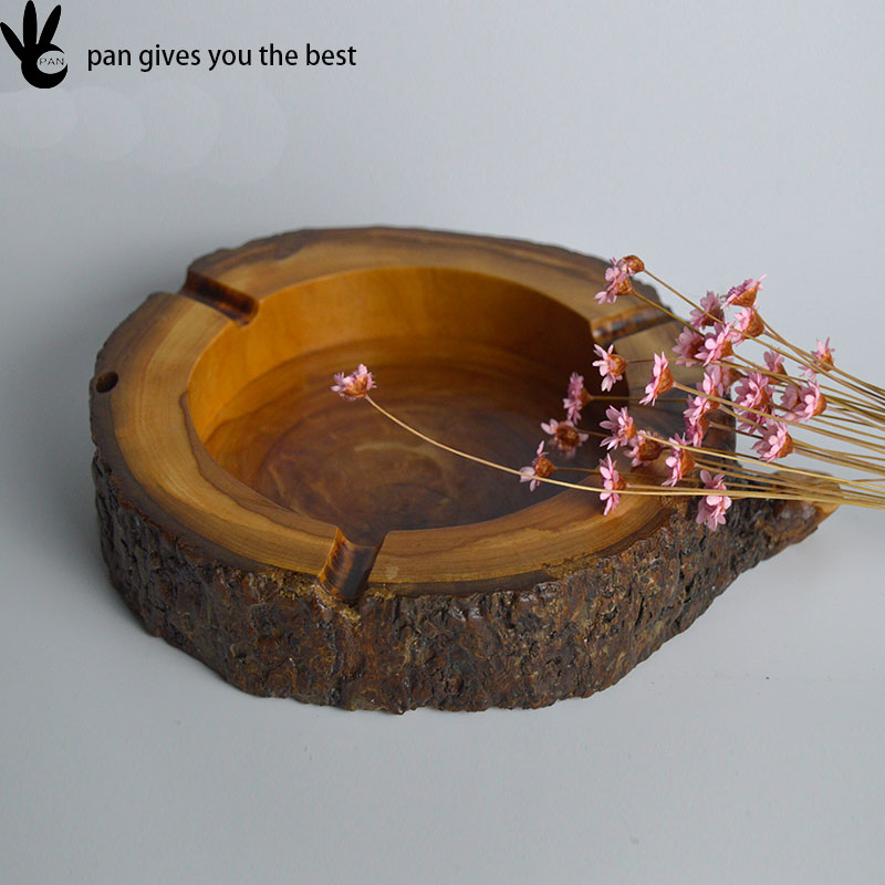 Good design modelling of wood cigar wooden ashtray