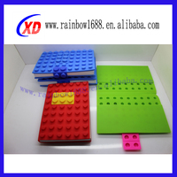 Office and School supply washable block silicone notebook