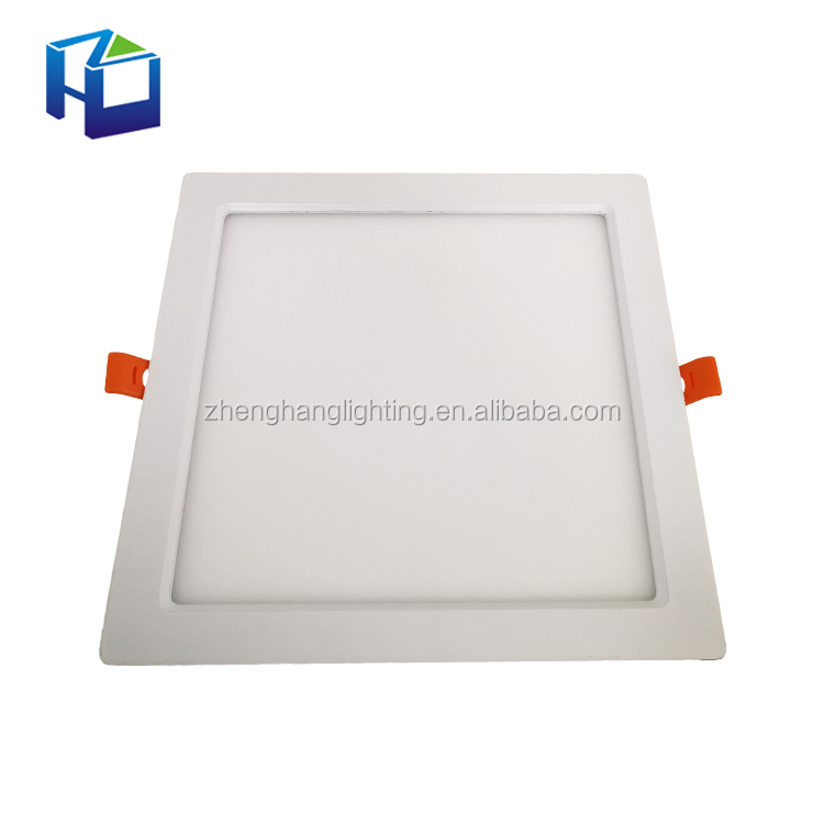 China Manufacturer Kitchen Ip40 Recessed Ultra Slim Smd2835 Flat Ceiling Led Panel Light