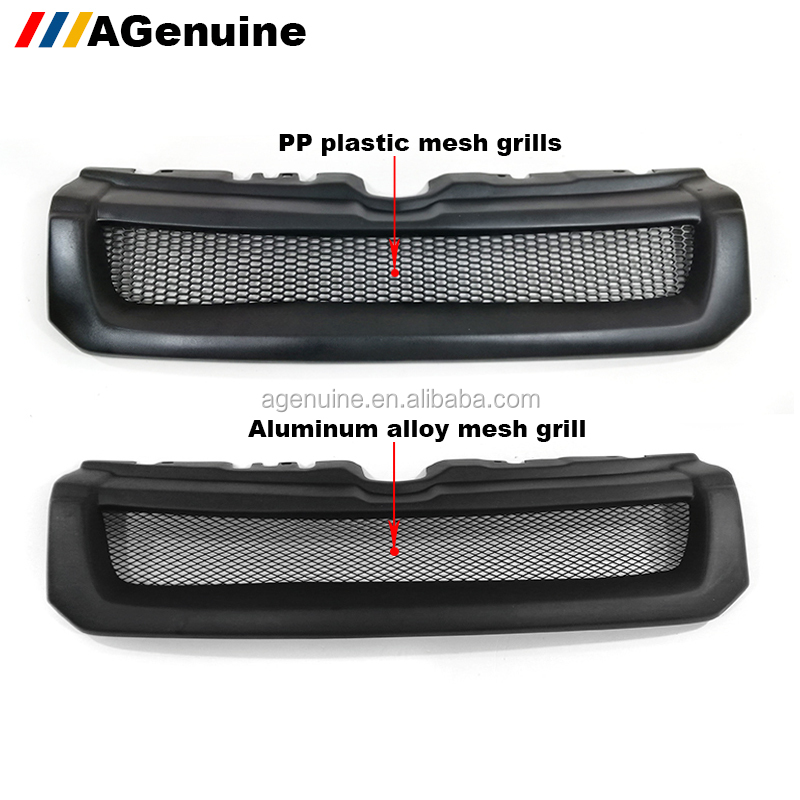AGenuine Kevla FRP custom colored car radiator racing grill front bumper grille mesh grills for Range Rover Evoque