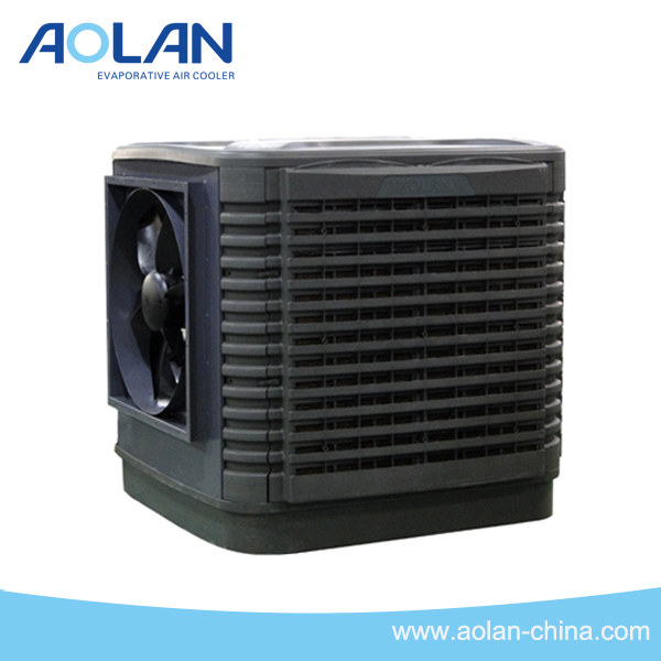 Evaporative air cooler for desert room industry