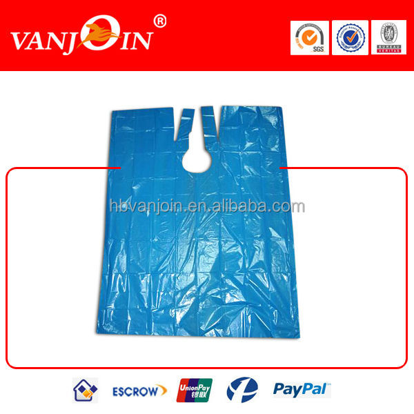 Disposable PE Apron For Hairdresser